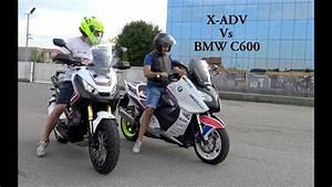 X Adv 750 : honda x adv 750 vs bmw c600 youtube ~ Medecine-chirurgie-esthetiques.com Avis de Voitures
