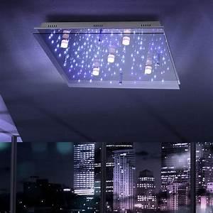 Deckenleuchte Sternenhimmel Halogen Led Lampe 100 Cm : licht trend deckenleuchte led sternenhimmel 65 x 65 cm online kaufen otto ~ Yasmunasinghe.com Haus und Dekorationen