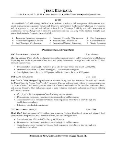 prep cook resume summary esempio cv inglese chef cv inglese