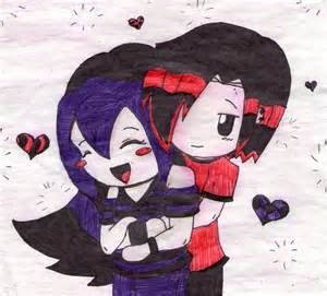 Cute Emo Couples Cartoons