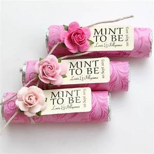 personalized wedding favors pink wedding favors mint to With hot pink wedding favors