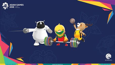 contoh  background wallpaper asian games