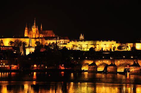 prague castle  night ccphoto