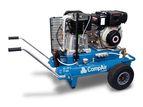 Compresseur d'air à pistons mobile de chantier CompAir ...