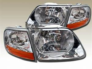 1997 F150 Lights 97 03 Ford F150 Svt 1997 2002 Expedition Headlights Clear