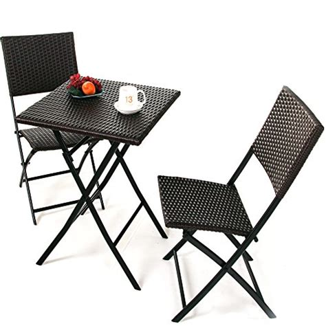 grand patio parma rattan patio bistro set weather