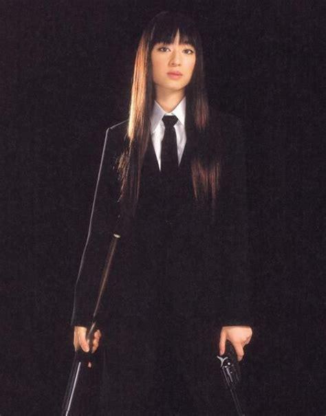 chiaki kuriyama as gogo yubari in kill bill volume 1 costumes archive kill bill kill bill