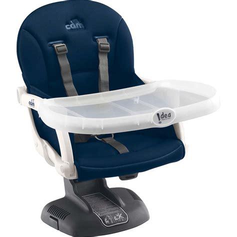 réhausseur chaise réhausseur de chaise idea bleu marine de chez naturabébé