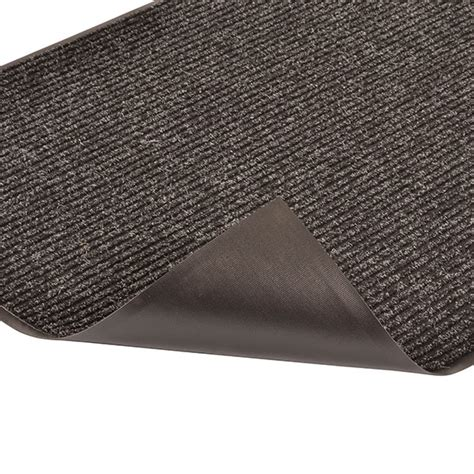 Step Doormat by Brush Step Mat Ribbed Entrance Matting Low Profile Mat