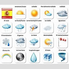 El Tiempo  Spanish Weather Vocabulary For Beginners  Aprender Espaňol (learn Spanish