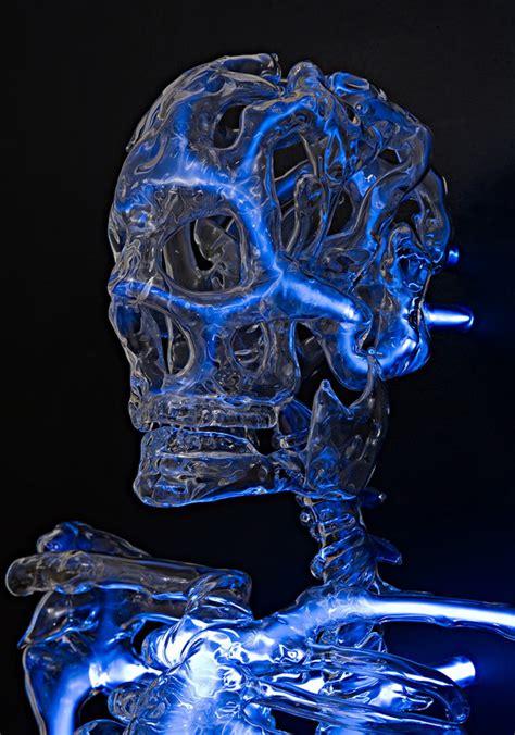 embodiment  neon skeleton  eric franklin colossal