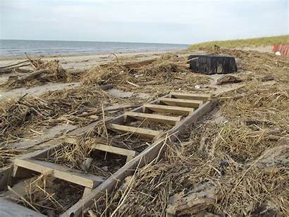 Michigan Lake Storm Damage Beach Hit Park