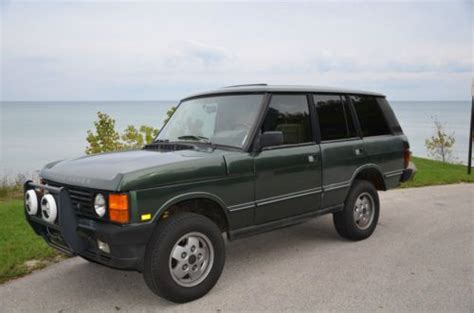 how things work cars 1991 land rover range rover lane departure warning sell used 1991 range rover in milwaukee wisconsin united states for us 6 000 00