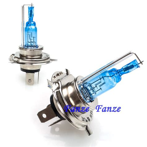 2 pcs new universal motorcycle h4 halogen xenon hid bulb