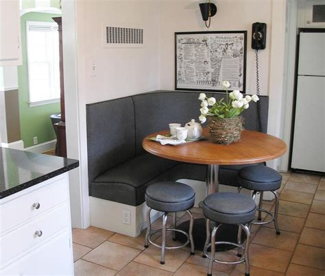 Corner Kitchen Booth Ideas by Banquette On Booth Seating Kitchen Booths And