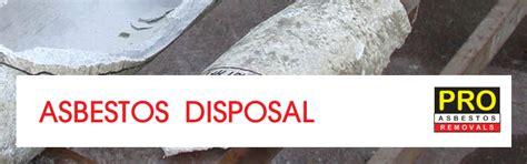 asbestos disposal brisbane locations advice