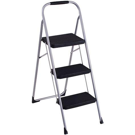 cosco step stool chair walmart cosco heavy duty 3 step stepstool walmart
