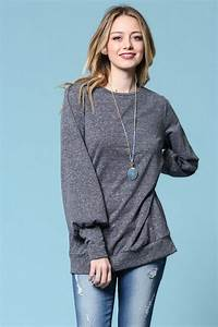 Harley Pullover Top Black Gozon Boutique Pullover