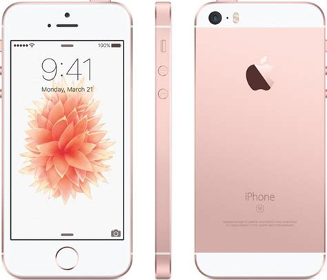 Apple iPhone 5 SE - 16GB Rose Gold (end 4/4/2017 5:15 PM