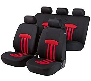 amazoncom walser car seat cover red  automotive