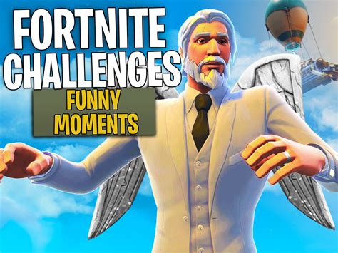 clip fortnite challenges funny moments