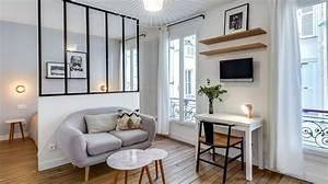 appartement paris marais un 25 m2 multifonction With meubles pour petit appartement 14 verrire dintrieur cuisine salon