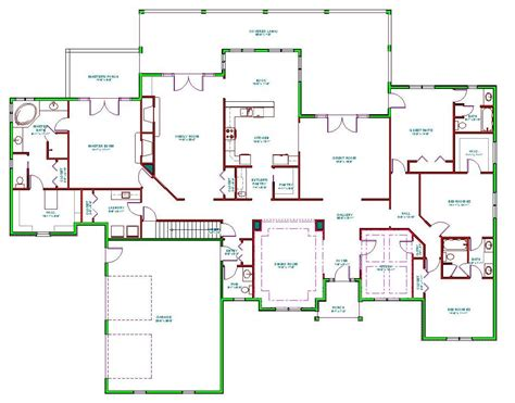 six bedroom floor plans mediterranean house plans mediterranean house plan d65