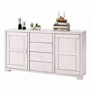 Möbel Weiß Lasieren : sideboard madison in kiefer massivholz wei ~ Lizthompson.info Haus und Dekorationen