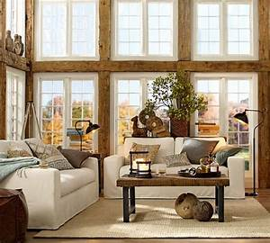 Pottery barn for Pottery barn living room images