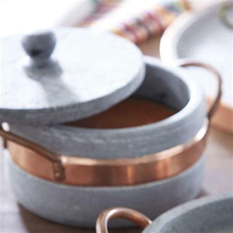 brazilian soapstone cookware collection   kitchen kitchen dining vivaterra