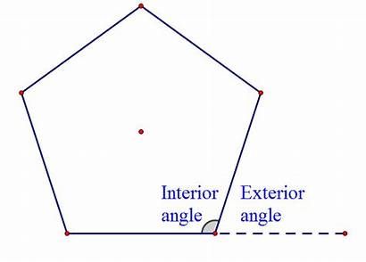 Shapes Angles Interior Exterior Because