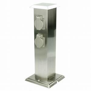 Borne Electrique Gratuite : bloc avec 4 prises de courant borne electrique exterieur jardin ip44 stand etang ebay ~ Medecine-chirurgie-esthetiques.com Avis de Voitures