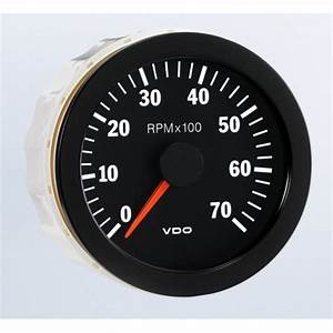 Vdo 80mm Electronic Tachometer 7000rpm
