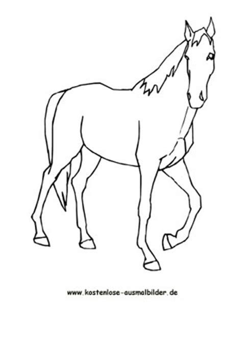 ausmalbilder malvorlagen pferd