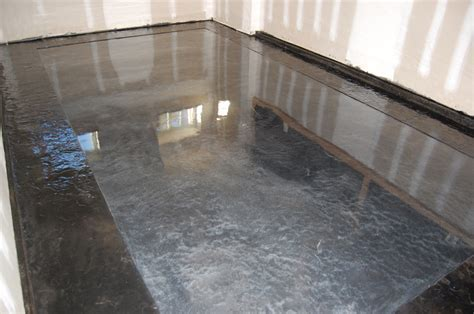Pauls Garage ? Metallic Epoxy Floor ? Stamped Slate