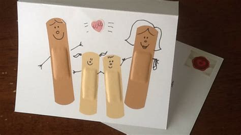 How To Make A Cute Band  Diy Aid Get Well Card Tutorial