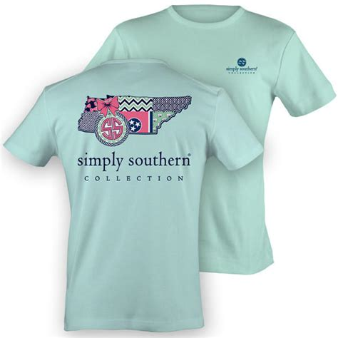 simply southern tennessee chevron preppy  simply cute tees