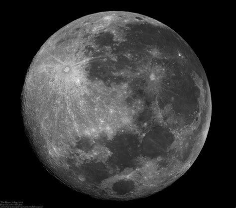 full moon  virtual telescope project