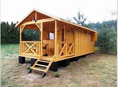 How to build a wooden cottage in 4 hours! YouTube