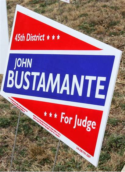 Signs Political Everywhere Maury County Bexar Maverick