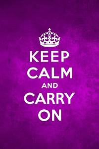 640x960 Keep Calm And Carry On Purple Iphone 4 wallpaper