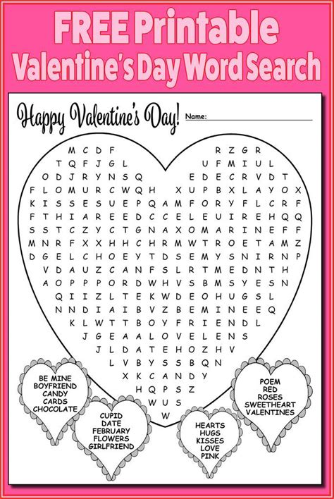 free printable s day word search supplyme