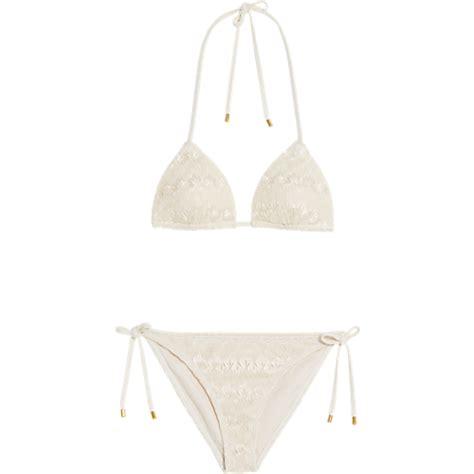 shimmer bikini offwhitewit bikinis