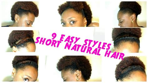9 Back To School Hairstyles For Short Natural Hair
