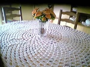 Nappe Table Ovale : nappe pour table ovale le tricot ma passion ~ Teatrodelosmanantiales.com Idées de Décoration