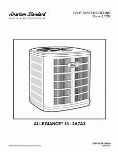 American Standard Thermostat Wiring Diagram