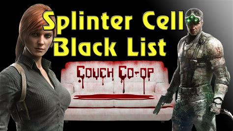 Couch Co Op  Splintercell Blacklist  Missile Plant Youtube