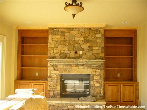 fireplace bookshelf built in bookshelves add a quality touch to custom homes