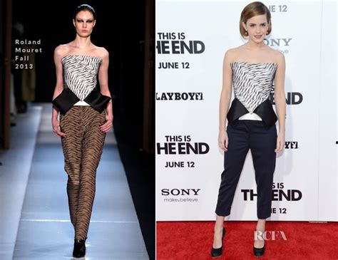 Emma Watson Roland Mouret This The End