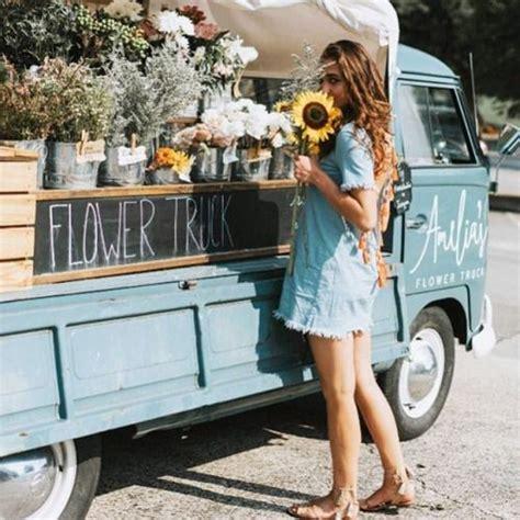 amelias flower truck spring  flower truck